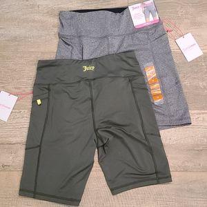 Juicy   2 pairs Bike Shorts